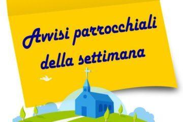 avvisi Parrocchia