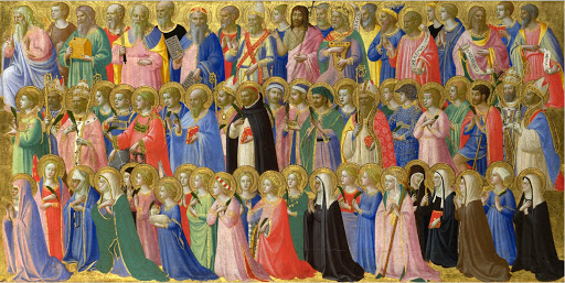 Domenica 1 novembre 2020 tutti i Santi beato te !